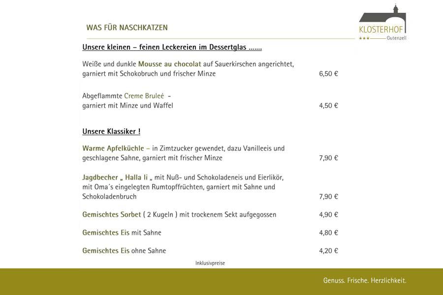 Dessertkarte 2018-01 - Klosterhof Gutenzell - 900x600